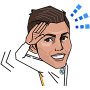 Real Madrid Champions League Sticker for LINE & WhatsApp | ZIP: GIF & PNG