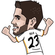 Real Madrid's Official Stickers Sticker for LINE & WhatsApp | ZIP: GIF & PNG