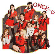 """TWICE """"Perfect World"""" Sticker for LINE & WhatsApp   ZIP: GIF & PNG"""