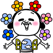 The Surrealism Pop-Up Stickers Sticker for LINE & WhatsApp | ZIP: GIF & PNG