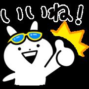 Usagyuuun!!!×smile zemi Sticker for LINE & WhatsApp | ZIP: GIF & PNG