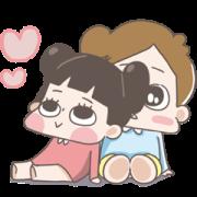 CHUCHUMEI-LOVE Full Screen Sticker for LINE & WhatsApp   ZIP: GIF & PNG