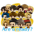 CL EXILE Stickers