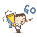 I'm Mark: Hypergetic Sticker for LINE & WhatsApp   ZIP: GIF & PNG