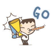 I'm Mark: Hypergetic Sticker for LINE & WhatsApp | ZIP: GIF & PNG