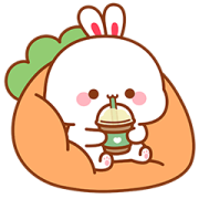 Lovely Tooji 3 Sticker for LINE & WhatsApp | ZIP: GIF & PNG
