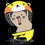 Mogurumin Sticker for LINE & WhatsApp   ZIP: GIF & PNG
