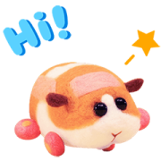 PUI PUI MOLCAR Honking Stickers Sticker for LINE & WhatsApp   ZIP: GIF & PNG