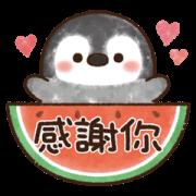 Pastel Penguin: Summer Sticker for LINE & WhatsApp   ZIP: GIF & PNG