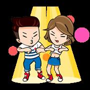 Pepsi Gang Zaa Animated Stickers Sticker for LINE & WhatsApp   ZIP: GIF & PNG