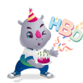 Rhino Thaioil 60th Anniversary