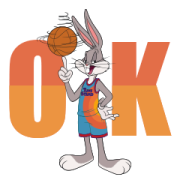 Space Jam: A New Legacy Sticker for LINE & WhatsApp | ZIP: GIF & PNG