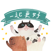 Watsons × Mr.Cat & Friends Sticker for LINE & WhatsApp | ZIP: GIF & PNG