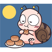 Animated Tumurin: Mid-Autumn Festival Sticker for LINE & WhatsApp | ZIP: GIF & PNG