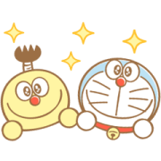 Doraemon and the F. Characters Stickers Sticker for LINE & WhatsApp   ZIP: GIF & PNG