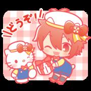 IDOLiSH7 × SANRIO CHARACTERS Sticker for LINE & WhatsApp | ZIP: GIF & PNG