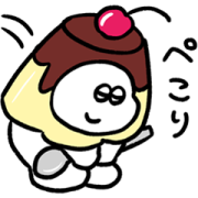 Omochi × LINE PLACE Sticker for LINE & WhatsApp | ZIP: GIF & PNG