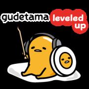 gudetama Gets Gamified Sticker for LINE & WhatsApp | ZIP: GIF & PNG