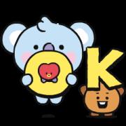 BT21 My Little Buddy Sticker for LINE & WhatsApp | ZIP: GIF & PNG