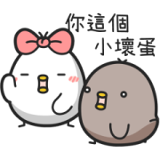 BWChickens-Glod Drama Stickers Sticker for LINE & WhatsApp | ZIP: GIF & PNG