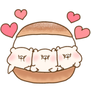 Friend is a bear×LINE Part Time Jobs Sticker for LINE & WhatsApp | ZIP: GIF & PNG