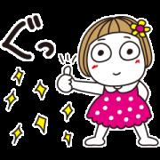Hanako×DoCLASSE Sticker for LINE & WhatsApp | ZIP: GIF & PNG