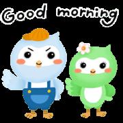 MOFA-BOCA 's Dramatic Daily Sticker for LINE & WhatsApp | ZIP: GIF & PNG
