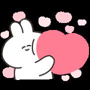 Sarcastic rabbit×LINE Avatar Sticker for LINE & WhatsApp | ZIP: GIF & PNG