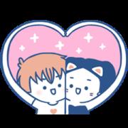 luoluoloveyou- Golden Drama Best Romance Sticker for LINE & WhatsApp | ZIP: GIF & PNG
