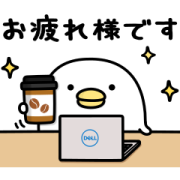 mame&co×DELL Sticker for LINE & WhatsApp   ZIP: GIF & PNG